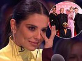the greatest dancer loses ratings battle against itv's the voice as cheryl makes her debut