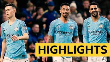 fa cup: manchester city 7-0 rotherham united highlights