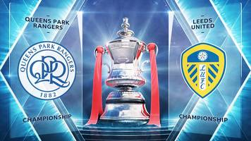 fa cup: queens park rangers 2-1 leeds united highlights