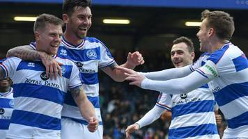 queens park rangers 2-1 leeds united: jake bidwell sends qpr into fa cup fourth round