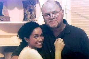 meghan markle's dad thomas's threat to daughter amid demands prince harry 'man up'