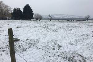 snow on the way: here's when the white stuff may fall as gloucestershire's cold snap continues