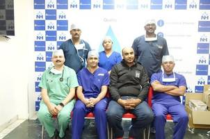 police officer from muscat with acute heart failure gets a gift of life at narayana health city