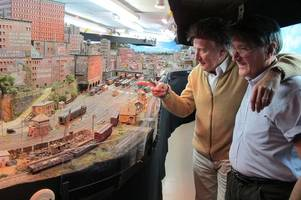 rod stewart makes film about massive 100ft model railway he built