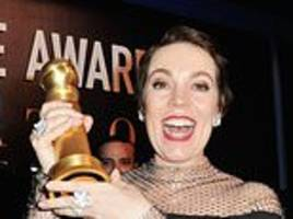 cor blimey! olivia colman's our jewel in the crown