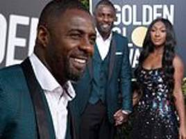 idris elba proudly poses with daughter isan before she hits the stage as golden globe ambassador