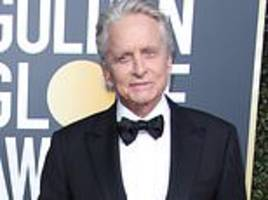 michael douglas earns first win of the night as 76th golden globe awards kick off