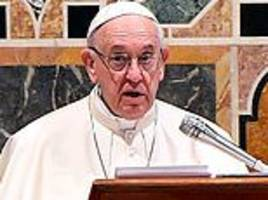 the pope condemns 'nationalist' leaders for undermining global diplomacy