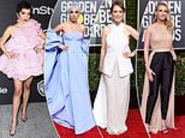 young v old: karen kay on the generational style divide at the golden globes