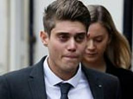 worcestershire cricketer alex hepburn, 23, stands trial accused of raping a woman