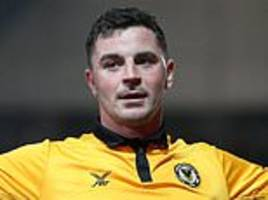 newport's fa cup hero padraig amond was home in time for match of the day