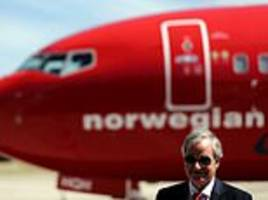 norwegian air blames problems with rolls-royce engines for a hit to its finances