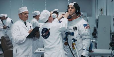 how the 'first man' composer created the movie's powerful score, which just won a golden globe
