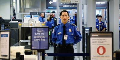 the government shutdown turned tsa lines in a new york airport into a 'mad house'