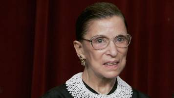 Ruth Bader Ginsburg To Sit Out Of Oral Arguments For First Time