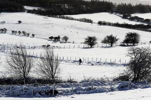 snow on the horizon: gloucestershire braced for sub-zero temperatures and more wet and wild weather