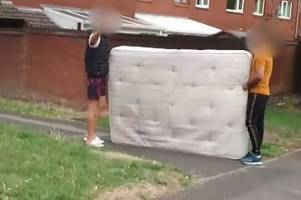 more than 17,000 mattresses dumped in birmingham as flytipping crisis grows