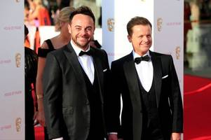 ant and dec's live tv comeback plans at ntas thrown into chaos after simon cowell double booking