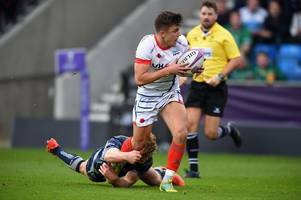 sale sharks man stars as cinderford are beaten and match abandoned at half-time due to injury - the big gloucestershire rugby stories