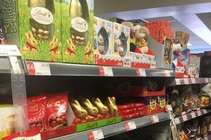 can you believe these stoke-on-trent stores are already selling easter eggs?