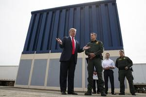 Trump Will Visit Southern Border Amid Government Shutdown Over Fight For Wall Funding