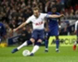 tottenham 1 chelsea 0: kane gives spurs slender advantage