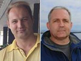 First pictures of Russian businessman held by the FBI a day after Moscow detained former US Marine