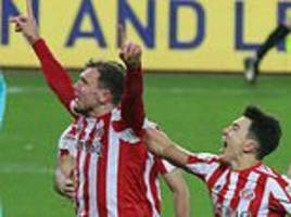 sunderland 4-0 newcastle u21: blacks cats claim derby spoils to stay on course for wembley final