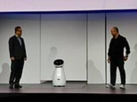 samsung reveals ai health robot that can check users' blood pressure and pulse