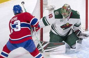 dubnyk, granlund lead wild to 1-0 win over canadiens