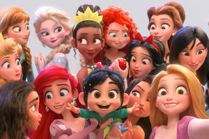 how 'ralph breaks the internet' gave the classic disney princesses a makeover