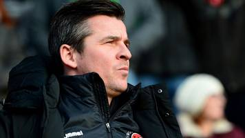 joey barton: fleetwood boss charged for criticising referee brett huxtable