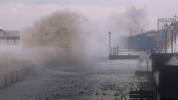 east of england winter tide surge triggers flood alerts