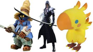 toy tuesday: 11 best 'final fantasy' toys
