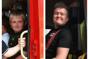 cheeky fireman sam proves childhood dreams do come true