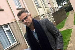 this is why richard bacon has been spotted in torquay