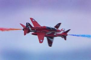 red arrows to feature in channel 5 documentary