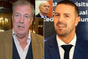 jeremy clarkson apologises after mistaking paddy mcguinness for ira boss