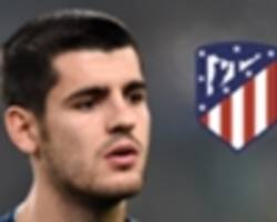 atletico madrid join race to sign chelsea striker morata on loan