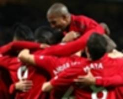 confident, happy man utd 'bouncing around the place' - carrick