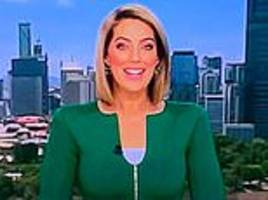 australian news reader mocked after viewers spot her neckline looks like male genitals