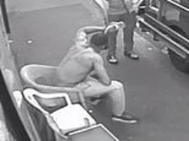 shocking cctv shows second waltham forest stab victim cradling his bleeding face