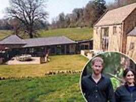 pictured: harry and meghan's £2.5m country bolthole where they entertain their friends