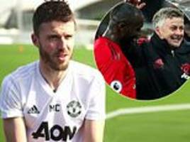 michael carrick says it's a 'happy camp' at manchester united under ole gunnar solskjaer
