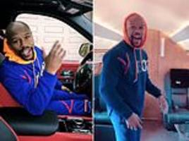'money man' floyd mayweather gives fans behind-the-scenes look at a day in his lavish life