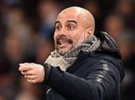 pep guardiola told manchester city stars not to let up against burton