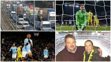 Man City 9-0 Burton: Eight-hour journey for 15 mins of football - stories