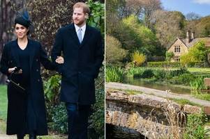 meghan markle and prince harry's secret £2.5million costwolds love nest revealed
