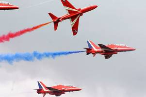 red arrow pilots talk about horrific crash in new tv documentary