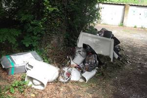 bathroom fitter prosecuted by council must pay £1,337 for fly-tipped waste in westfield